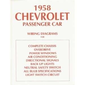 1958 CHEVROLET Wiring Diagrams Schematics Automotive