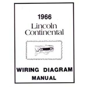 1966 LINCOLN Full Line Wiring Diagrams Schematics: Automotive