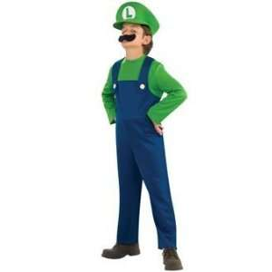 Rubies Luigi Child Costume Style# 883654 Medium Toys & Games
