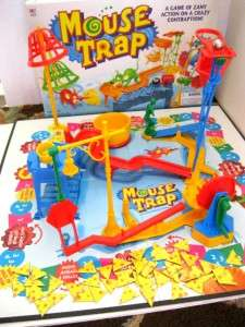 Vintage 1999 MOUSE TRAP Board GAME~Complete Instructions in English