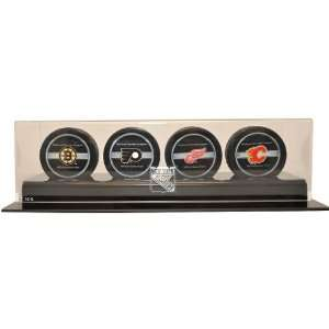 Caseworks New York Rangers 4 Puck Display Case  Sports