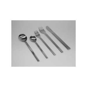 Mono A 20 Piece Flatware Set with Short Blade Table Knife