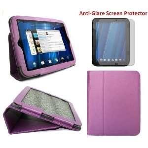 HappyZone   (Purple) Portfolio Leather Case Cover with Muti