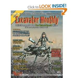 Excavator Monthly Issue 1 Official Magazine for The Mutant Epoch