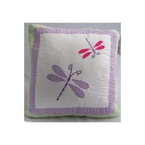 Best Quality Dragonfly Butterfly Pillow By Pem America