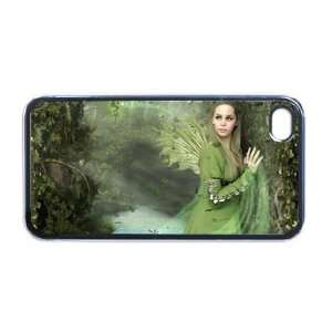 Fairy pixie Celtic Apple RUBBER iPhone 4 or 4s Case
