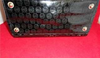 MICHAEL KORS Grayson Large Monogrammed Satchel   Black
