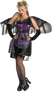 Purple Grecian Fairy adult Halloween costume dress