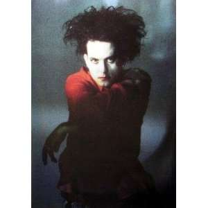 Cure Music Poster   Robert Smith Full Color Closeup