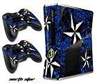SKIN DECAL COVER FREE SHIP STICKER FOR NEW XBOX 360 SLIM CONTROLLER