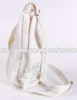Hello Kitty Mini Backpack Sling Pack Tote White