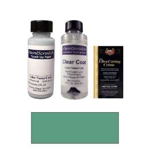 2 Oz. Dark Green Gray Metallic Paint Bottle Kit for 1999