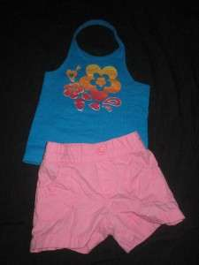 GAP GYMBOREE TODDLER BABY GIRL 4T SHORT SHIRT SPRING SUMMER CLOTHES
