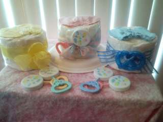 Cake Shortcake Baby Shower Gift Favors Boy Girl Centerpiece***