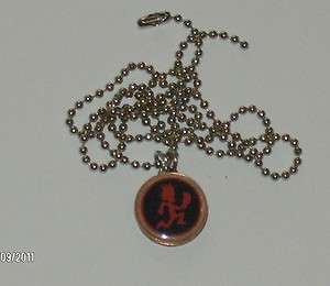 Lucky Penny Pendant Hatchet Man Charm ICP 24 Necklace