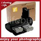 camera multi power battery pack grip for nikon mb d80