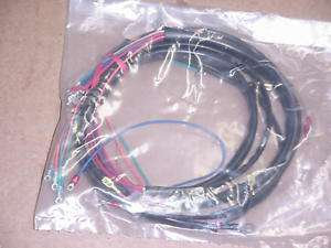 New 1971 73 Harley Servi car,G Main Wiring Harness