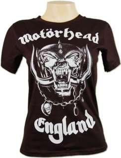 Motorhead England Metal Rock Biker Vtg Skinny T shirt S