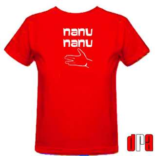 MORK AND MINDY NANU NANU UNOFFICIAL TRIBUTE CULT TV T SHIRT