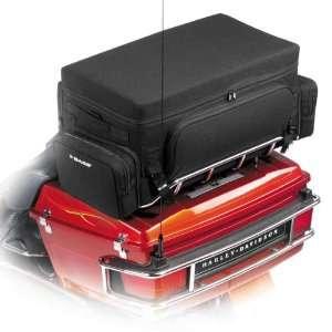 Dekker Supreme Nylon Tail Bag for Harley Davidson Tour Pak Automotive