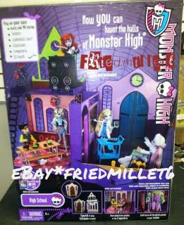 Monster High School Playset/Doll House IN HAND Ghouls Rule/Dot Dead