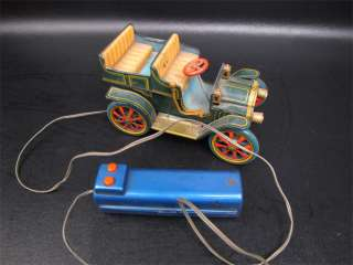 Vintage Modern Toys Tin Litho R/C Battery Operated Car