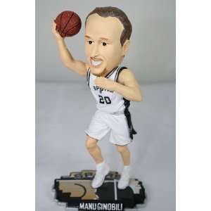 Ginobili San Antonio Spurs Court Base Bobble Head