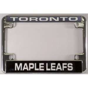 Leafs Chrome Motorcycle RV License Plate Frame