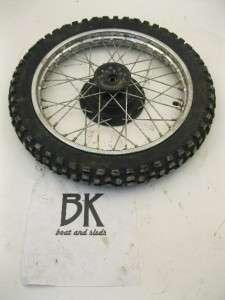1999 Honda XR 70rx Front Tire Wheel Rim Used Dirtbike