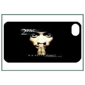 2Pac iPhone 4 iPhone4 Black Designer Hard Case Cover