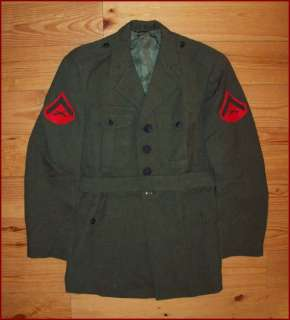 OLD VTG VIETNAM WAR 1967 IDd USMC US MARINE CORPS SOLDIERS UNIFORM