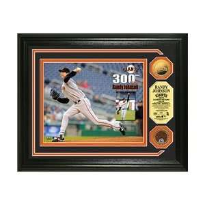 Highland Mint San Francisco Giants Randy Johnson 300th Win