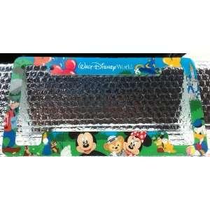 Walt Disney World Mickey Minnie Mouse Duffy Bear Car License Plate Tag