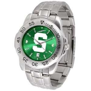 Michigan State University Spartans Sport Steel Band Ano chrome   Mens