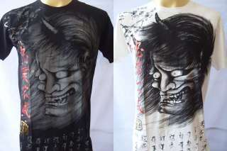 Emperor Eternity Japanese Demon Mask Tattoo M L XL