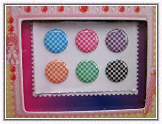 4X Polka Dots Home button sticker for iPad iPod iPhone 4S 4 /3G 3GS