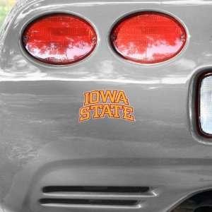 NCAA Iowa State Cyclones University Wordmark Car Decal