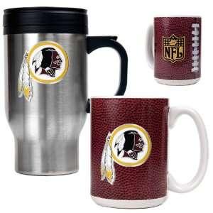 Washington Redskins NFL Travel Mug & Gameball Ceramic Mug
