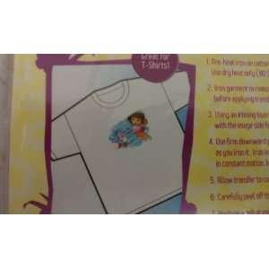Dora the Explorer Iron on Shirt Decal