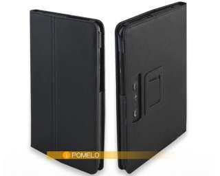 PU Stand Folid Leather Case Cover Holder For LG V900 G Slate Optimus
