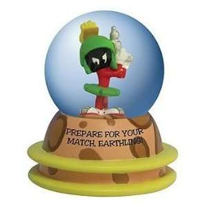 Looney Tunes Marvin the Martian Water Snow Globe Toys