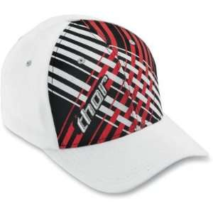 THOR LACED HAT WHITE LG/XL: Automotive