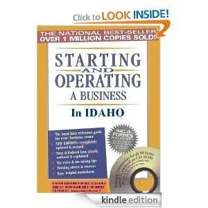 Starting and Operating a Business in Idaho (Starting and Operating a