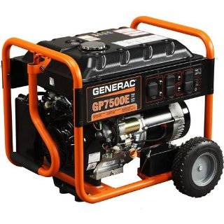 OHV Portable Gas Powered Generator with Electric Start, CARB Compliant