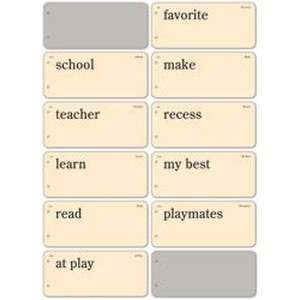 Report Card Flashcard Book