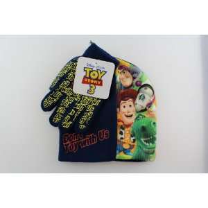 Disneys Toy Story Beanie and Glove Set (Navy): Toys