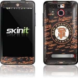 San Francisco Giants   Primary Logo Blast skin for HTC EVO