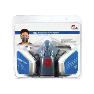 3M R 7512ES Professional Half Mask Organic Vapor, P95