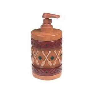 CANOE paddles LOTION SOAP DISPENSER bathroom home decor