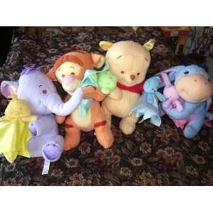 Plush Pooh, Tigger, Eeyore, Heffalump  Toys & Games